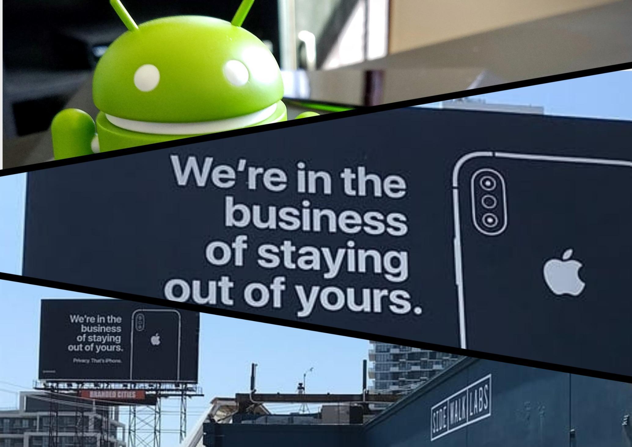 Apple раскритиковала Google заотношение кданным пользователей