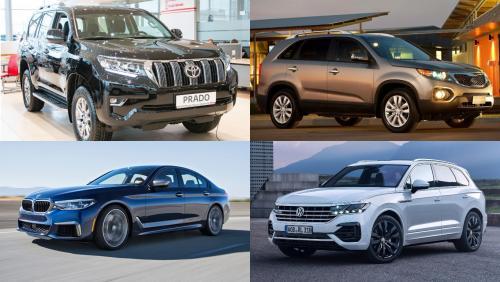 Названа десятка лучших дизельных автомобилей 2019 года по мнению россиян