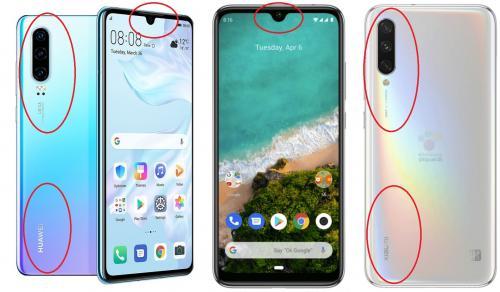 Новинка Xiaomi Mi A3 нагло копирует смартфоны Huawei