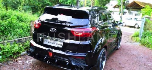 «Крета мутировала»: Пользователи не оценили «колхозный» тюнинг Hyundai Creta с обвесом BMW