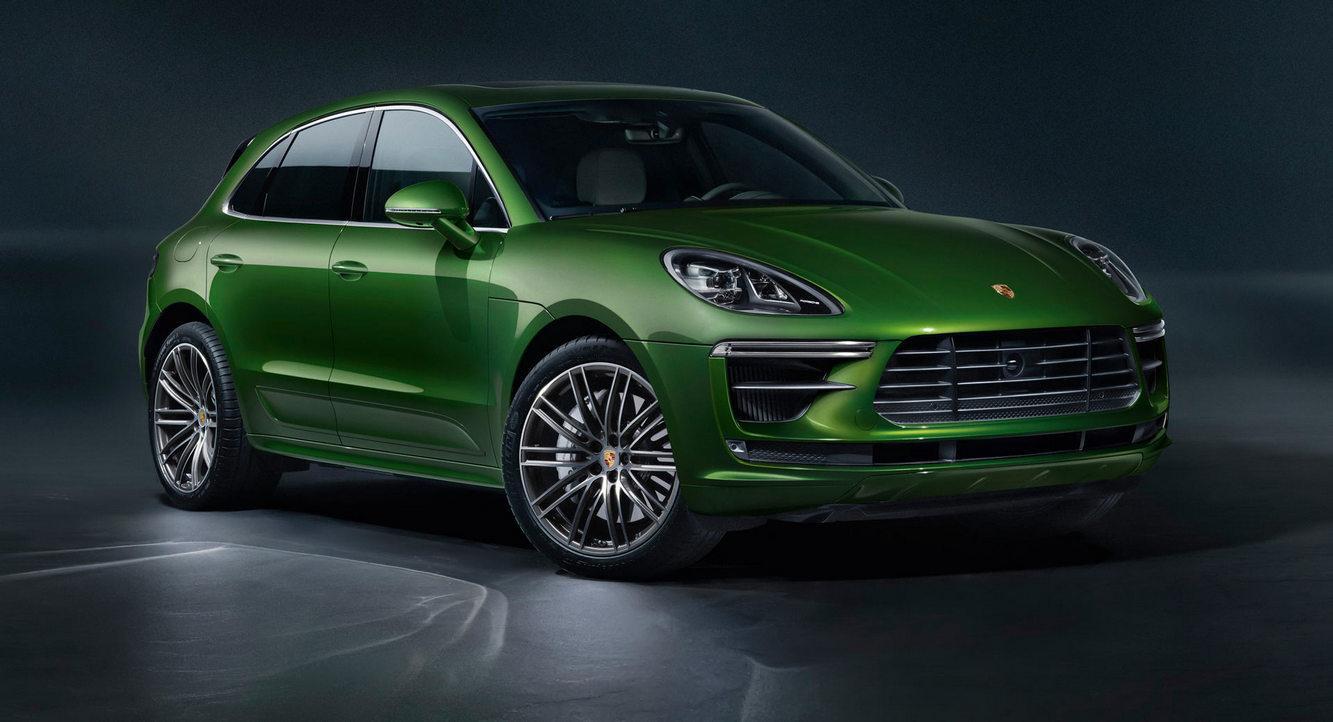 Компания Porsche представила обновленный Macan Turbo