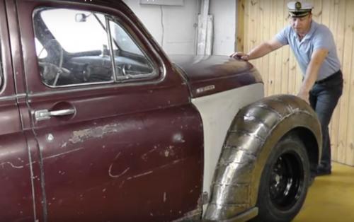 «Хочется пошалить»: Блогер рассказал о новом проекте по тюнингу ГАЗ-М20 «Победа» в стиле стимпанк
