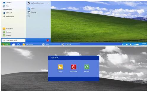 В Сети показали обновлённую Windows XP