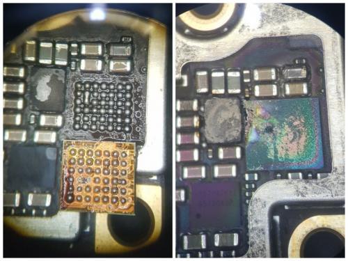Беспроводная зарядка сожгла iPhone 8