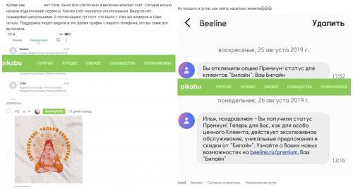 Принудительный «Премиум»: «Билайн» самовольно включил услугу за 1200 рублей