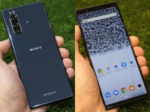 «Лопаты» не нужны: Sony представили компактную новинку Xperia 5