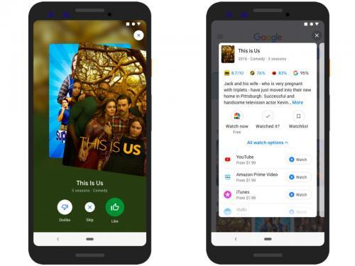 Tinder для киноманов: Google решит за пользователя, что посмотреть