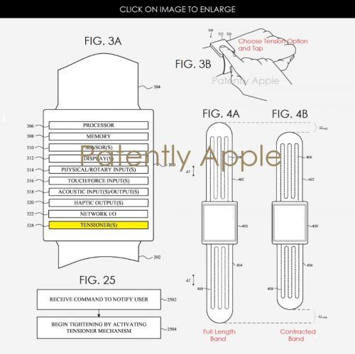 Apple готовит часы нового поколения с самозатягивающимся ремешком