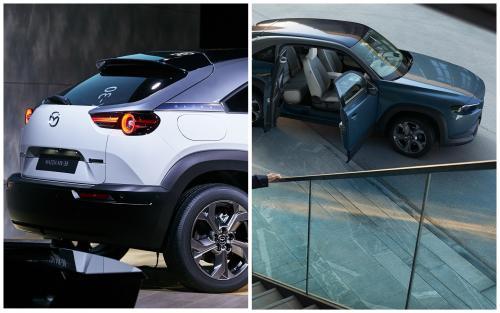Mazda MX-30: Блогер сделал обзор полноценного электрического кроссовера