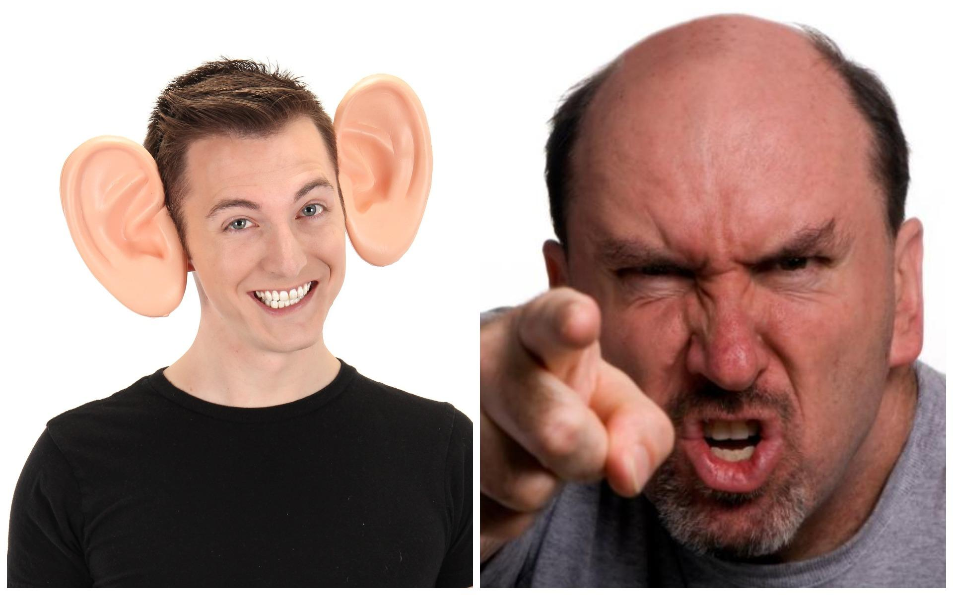 классические уши характер человека фото адрес