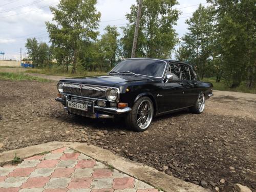 Как создать турбированную «Волгу» ГАЗ-24 на основе старой иномарки?