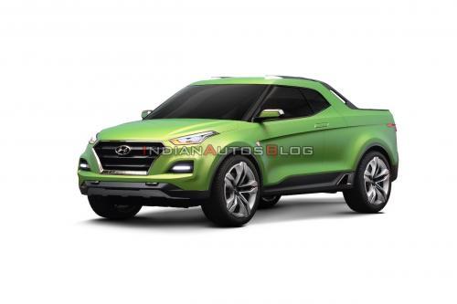 Hyundai Creta превратили в пикап